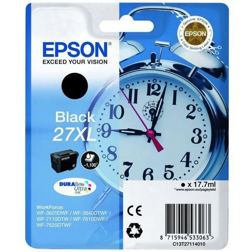 Epson Tusz t2711 black 17.7ml do wf-3620dwf
