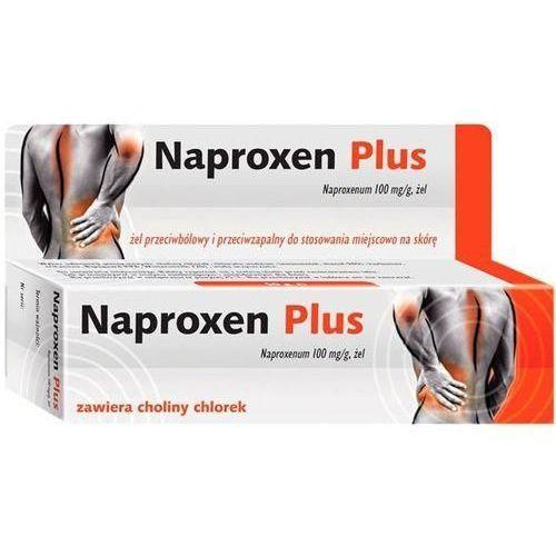 Naproxen Plus zel 10% x 50g /Emo, produkt z kategorii- Maści i żele przeciwbólowe