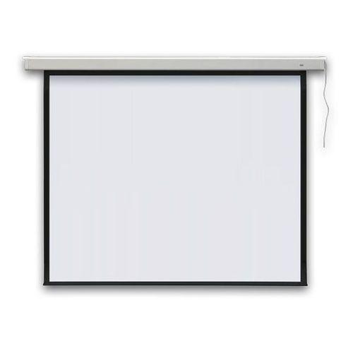 Ekran projekcyjny profi elektryczny, ścienny 195x145 cm (4:3) marki 2x3