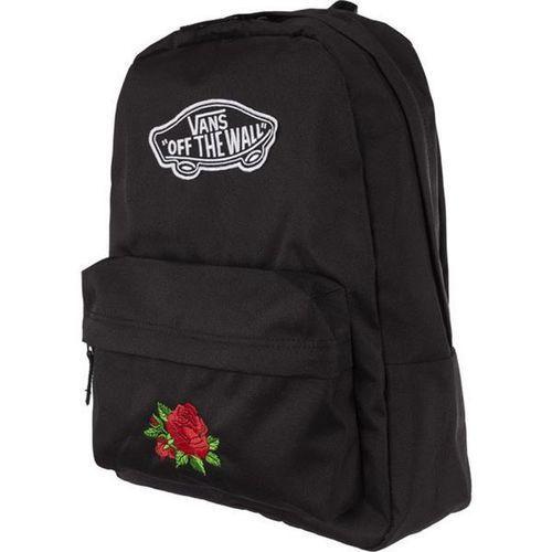 realm backpack blk classic rose - plecak miejski - czarny marki Vans