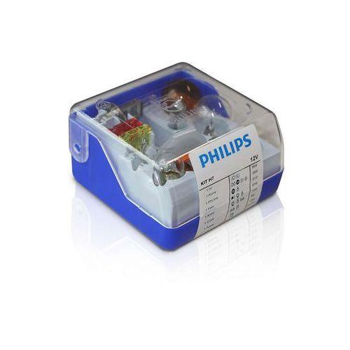 Zestaw zapasowy Philips 55007SKKM - Żarówka samochodowa H7 12V (8711559527321)