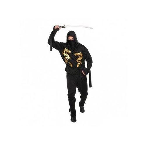 Kostium ninja czarny smok - xl/plus marki Amscan