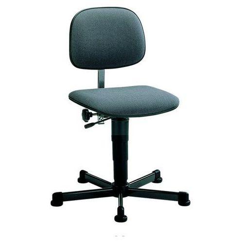 Obrotowe krzesło do pracy,na ślizgaczach, zakres regulacji wysokości 430 - 600 mm marki Bimos