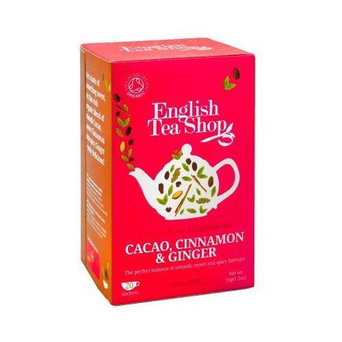 ETS Cacao, Cinnamon, Ginger 20 saszetek
