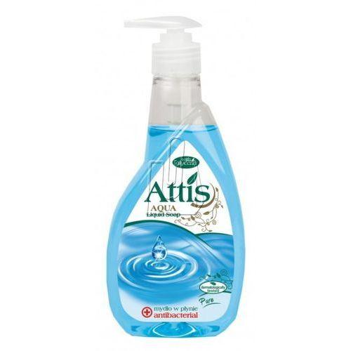 Mydło w płynie 400ml antybakteryjne z dozownikiem marki Attis