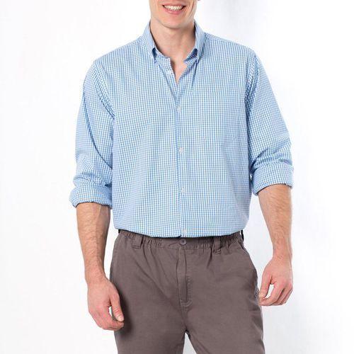 Koszula w kratkę, rozmiar 1 i 2 (do 187 cm wzrostu) - sprawdź w La Redoute