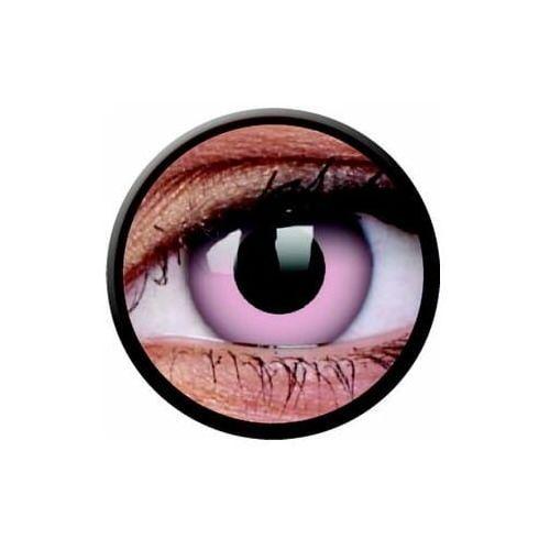 Soczewki kolorowe różowe BARBIE PINK Crazy Lens 2 szt. (9555644810689)