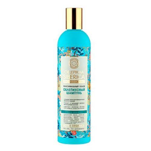 Natura Siberica Professional - szampon rokitnikowy do wszystkich typów włosów - zwiększenie objętości - krwawnik azjatycki, kalina, wyciąg z igieł modrzewia syberyjskiego, olej arganowy, olej z rokitnika ałtajskiego - z kategorii- olejki do włosów