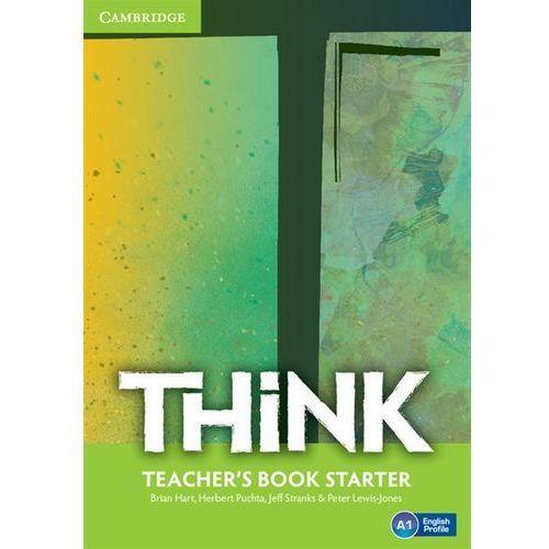 Think Starter. Książka Nauczyciela, oprawa miękka