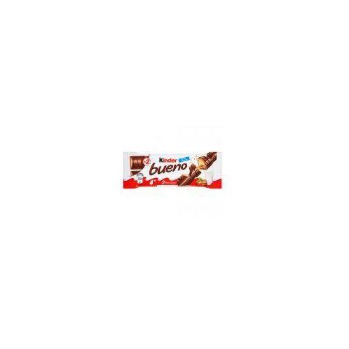Baton Kinder Bueno z orzechowym nadzieniem w kruchym waflu oblanym mleczną czekoladą 43 g (2 batony) (80052760)