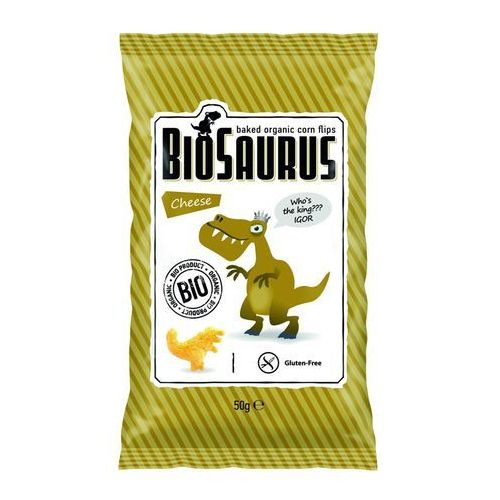 Cibi Chrupki kukurydziane o smaku serowym bezgl. bio 50 g