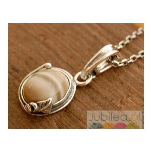 ARCO - srebrny wisiorek z krzemieniem pasiastym ze sklepu Jubilea