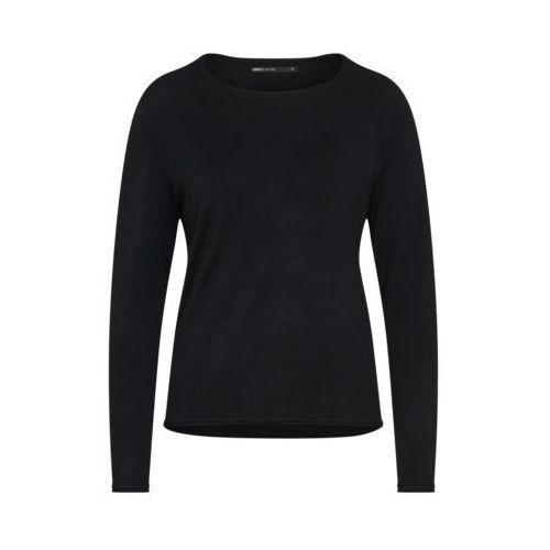 ONLY ONLMILA LACY Sweter black, kolor czarny