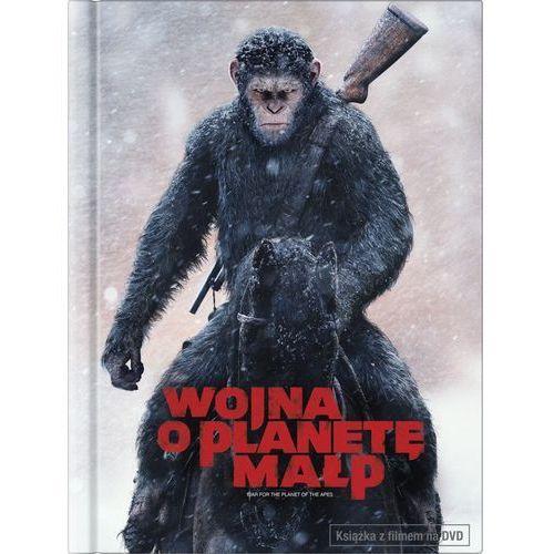 Wojna o planetę małp (książka +dvd) - matt reeves. darmowa dostawa do kiosku ruchu od 24,99zł marki Imperial cinepix