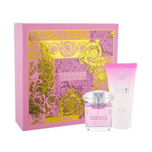 Versace Bright Crystal zestaw Edt 30 + 50ml Balsam dla kobiet (8011003810635)