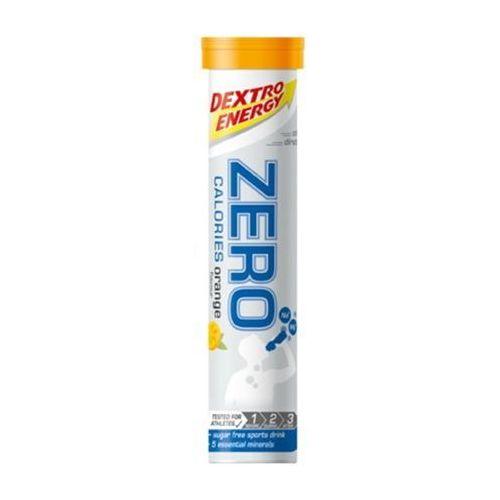 Napój z elektrolitami w tabletkach DEXTRO ENERGY Zero Calories / Opakowanie: 80 g 20 szt / Smak: pomarańczowy (4046802214012)