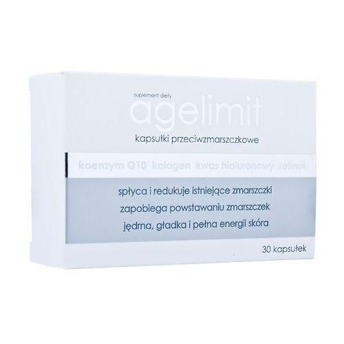 AGELIMIT Age Limit kapsułki przeciwzmarszczkowe na zmarszczki spirulina Q10 kolagen 30kaps CENA ze sklepu Apteka Słonik