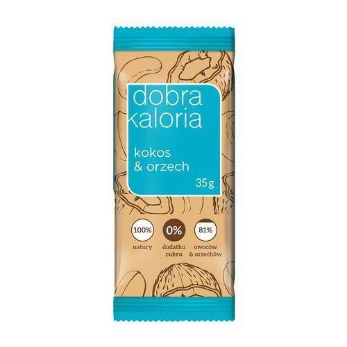 Dobra kaloria Baton owocowy kokos & orzech 35g