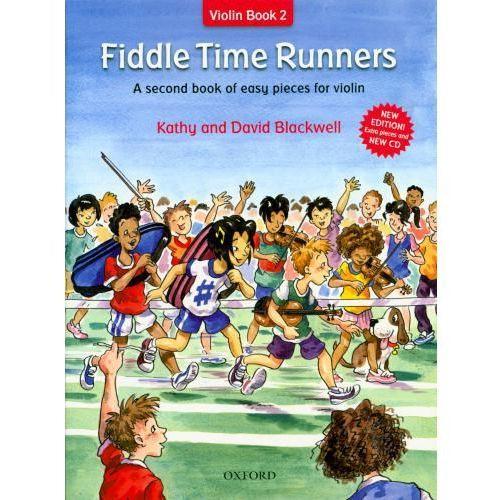 PWM Blackwell Kathy, David - Fiddle time runners. Violin book 2 (utwory na skrzypce + CD)-nowe wydanie