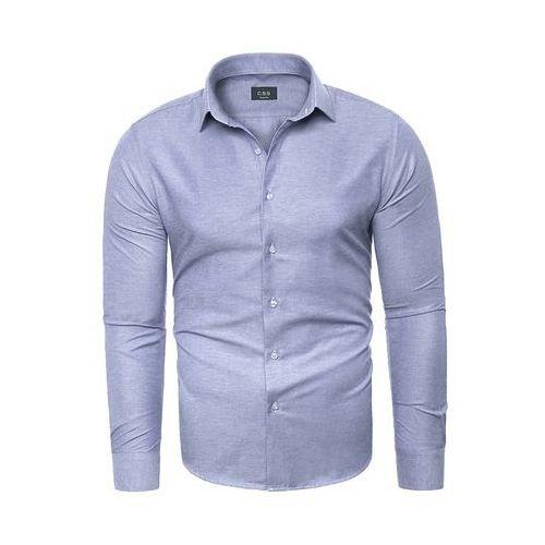 Wyprzedaż koszula męska c.s.s 275 - błękitna marki Risardi