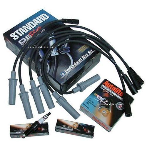 Standard-autolite Przewody oraz platynowe świece zapłonowe dodge caravan rg 3,3 / 3,8 2001- standard