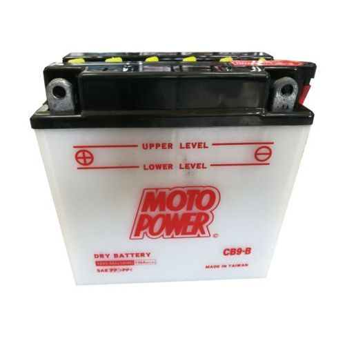 Akumulator motocyklowy cb9-b / yb9-b 12v 8ah 130a l+ marki Motopower