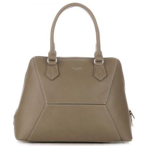 1148bd8df791e Torebki damskie kuferki ciemno zielone khaki marki David jones 129,00 zł Ta  torebka damska kuferek sprawi, iż wyglądasz elegancko. Nadzwyczajny na co  dzień, ...