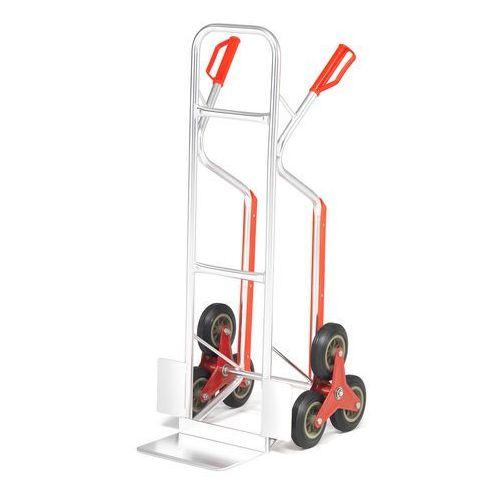 Trójkołowy lekki wózek z aluminium