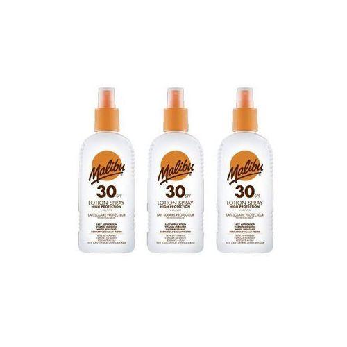 Malibu Lotion Spray SPF30 preparat do opalania ciała 200 ml unisex