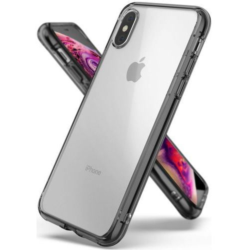 Ringke fusion etui obudowa iphone xs / x (smoke black)