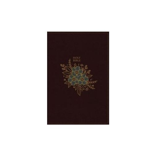 NKJV, Thinline Bible, Leathersoft, Burgundy, Red Letter Edition, Comfort Print (9780718075460)