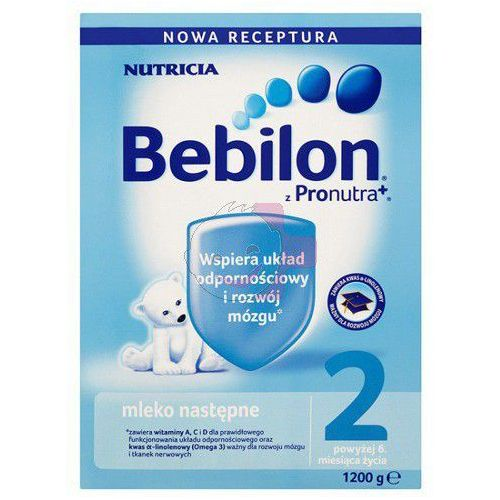 Bebilon 2 z Pronutra mleko modyfikowane ZESTAW 4x1200g (mleko dla dzieci)