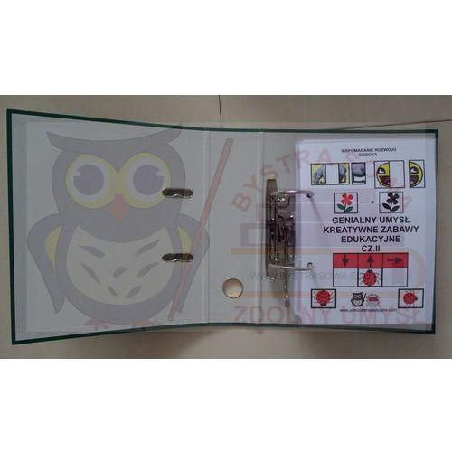 Genialny umysł cz. II - kreatywne zabawy edukacyjne format A5 - z naklejonym rzepem