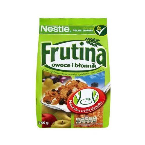 250g frutina owoce i błonnik płatki śniadaniowe marki Nestle