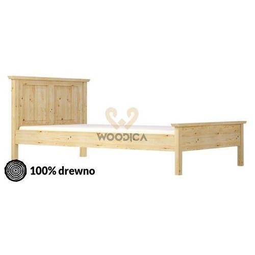Łóżko beskidzka i 120x200 marki Woodica