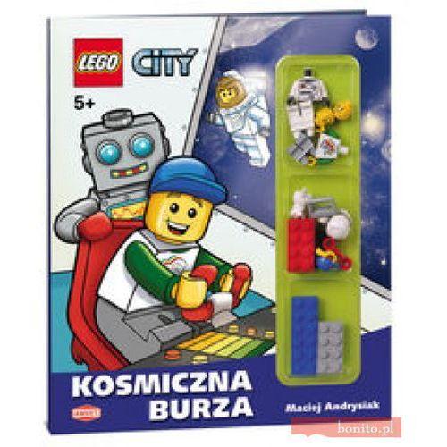 LEGO City Kosmiczna burza, książka w oprawie twardej