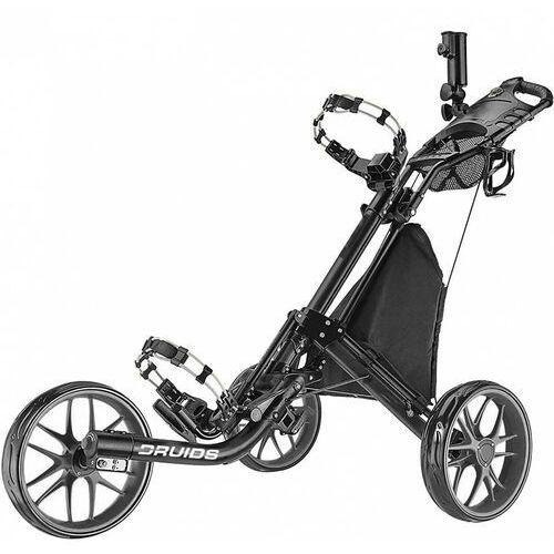 Manualny wózek golfowy DRUIDS COMPACT EZ CARBON (czarno-szary)