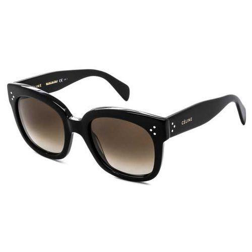 Okulary Słoneczne Celine CL 41805/S New Audrey 807/HA, kolor żółty