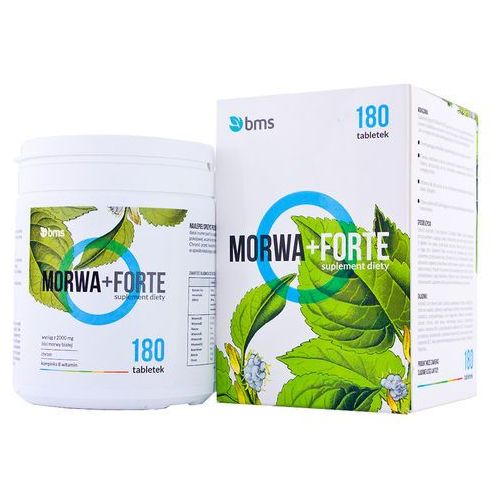 Morwa + Forte 180 tabletek z kategorii Tabletki na odchudzanie