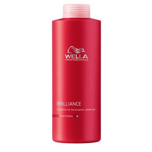 Artdeco Wella brilliance odżywka do włosów cienkich i normalnych 1000ml (4015600117719)