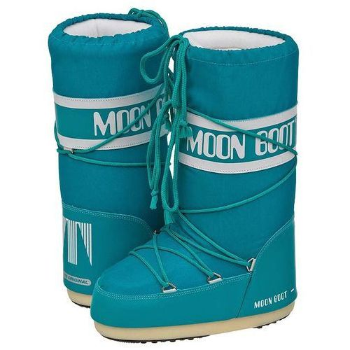 Śniegowce Moon Boot Nylon Turquoise 14004400068 (MB2-j)