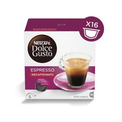 espresso decaffeinato 16 kapsułek marki Nescafe dolce gusto