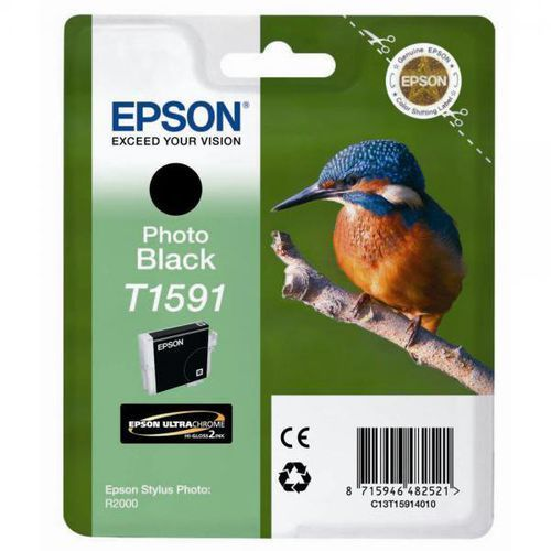 Epson  oryginalny ink c13t15914010, photo black, 17ml, epson stylus photo r2000