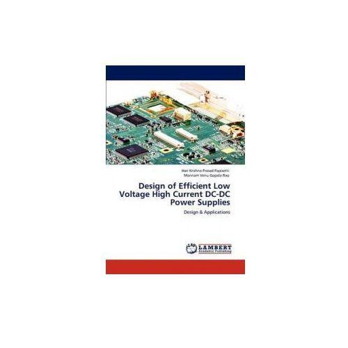 Design of Efficient Low Voltage High Current DC-DC Power Supplies