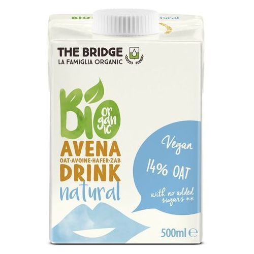121the bridge Napój mleko owsiane naturalne 500ml - the bridge - eko hit!