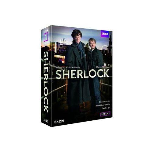 SHERLOCK BOX 3DVD SERIA 1 (5906619091840)