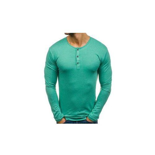 Athletic Longsleeve męski henley zielony denley 1114