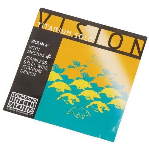 (634194) vision titanium solo e vit01 struna skrzypcowa 4/4 marki Thomastik