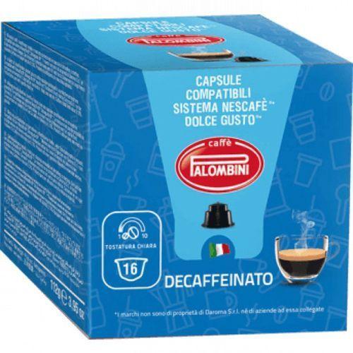 Kapsułki decaffeinato d107 marki Palombini