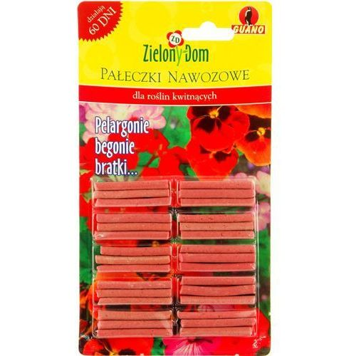 Pałeczki nawozowe dla roślin kwitnących Zielony Dom (5900026000914)